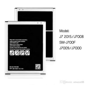 Phone Battery For Samsung Galaxy J7 J700 J700F J700M J700H J700T J700P On7(G600) 3300mAh EB-BJ700BBC Batteries (2015)