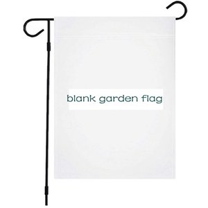 Hanging Flags Blank Garden Flag DIY Pongee Sublimation Household Decor Inch 12*18 Festival Polyester Flag Garden 30*45cm Decor LLA503 Nnggo
