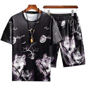 2021 Men's Brand Designer Tracksuits sets Pullover Mens Women Short sleeve Sport Suits Casual Jogging designs Sportswear