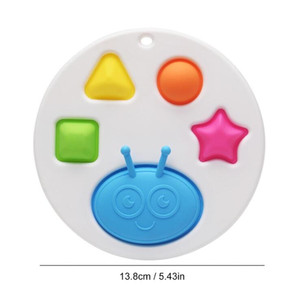 Baby Sensory Simple Dimple Toys Push Bubble Fidget Toy Autism Needs Squishy Stress Reliever Toys For Kids CCF5033