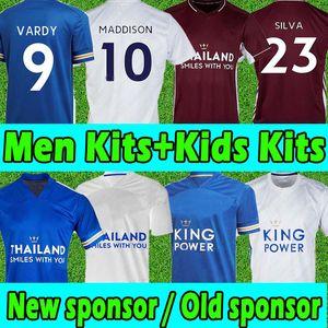 Leicester Soccer Jerseys 2020 2021 City Vardy Maddison Tielemans Ndidi Camiseta de Fútbol Männer Kits + Kinder Kits MAILTOT DE Football Hemd Top