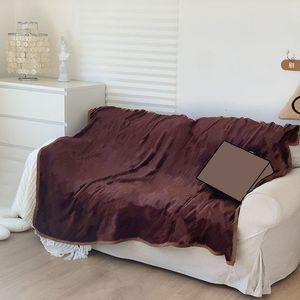 Lujoso letra patrón diseñadores de casas manta mantón marcas cama sofá grueso siesta viaje multi función regalo invierno mantas