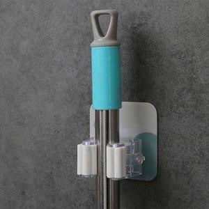 سحابة الجدار شنت ممسحة مظلة حامل فرشاة بروم شماعات تخزين الرف تحسين المنزل المنزل Accesso QYLWWJ
