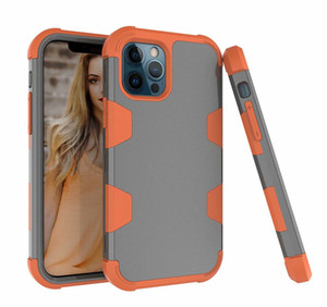 For iphone 12 pro max XS X 3 in 1 Heavy Duty Protection Full Body tough Shield armor Shockproof Slim Fit case Cover for Samsung S10 S20 Plus