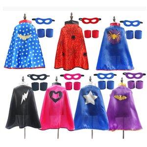 Supereroe Capes Bambini festa di compleanno festa costume di halloween costume ragno