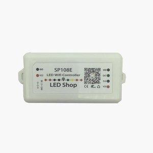 10 PCS SP108E LED SPI WiFi Pixel IC Controller por aplicación de teléfono inteligente para WS2812B WS2811 SK9822 SK6812 RGBW APA102 Strip DC5-24V