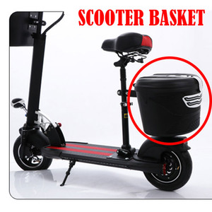 2018 new Plastic Basket with Cloth Lining and Lock for Xiaomi Mijia M365 Electric Scooter Installation on Front or Rear