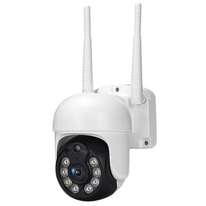 Mini Cameras 1080P Security Camera WIFI Outdoor PTZ Speed Dome Wireless IP 360Degrees Rotating Automatic Tracking PIR Motion Detection