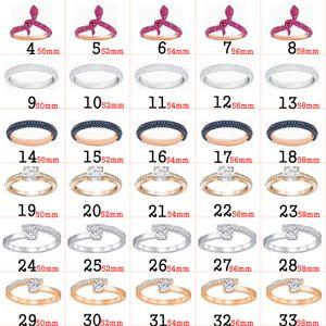 2021 Fahmi S925 Silber überzogen 18 Karat Rose Gold Tousesruby Mysterious Elegante Vitalität Ring Frauen