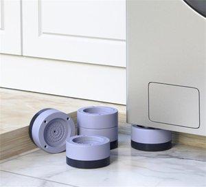 Anti-slip And Noise-reducing Washing Machine Feet Non-slip Mats Refrigerator Anti-vibration pad 2 4pcs Kitchen Bathroom Mat 2168 V2
