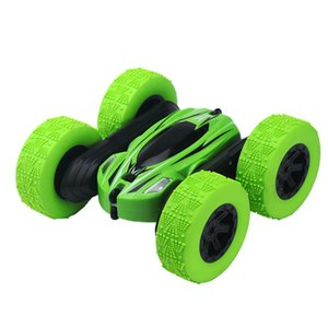 New two-sided stunt car charging roll-over acrobatic tumbling remote control car car children's toy boy.