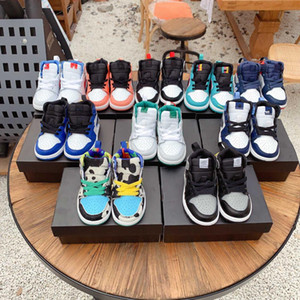 Высочайшее качество 1 1 1 детские баскетбольные туфли мальчики девочки дети дети младенцев кроссовки летом открытый вскользь спортивные кроссовки кроссовки 28-35
