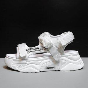 Fujin Femmes Sandales Sandals Casual Chaussures De Fête Equielle Respirant Dames Diapositives Fashion Platform Chaussures Sandales d'été pour femmes 210301