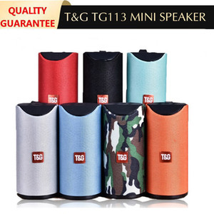 NEW TG113 Loudspeaker Bluetooth Wireless Speakers Subwoofers Handsfree Call Profile Stereo Bass bass Support TF USB Card AUX Line In Hi-Fi