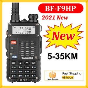 라디오 FM BAOFENG BF-F9HP 무전기 토키 50km 듀얼 밴드 2 웨이 햄 CB 라디오 VHF UHF HF 트랜시버 PK BAOFENG UV 82 UV 5R