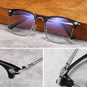 Computadora hombres vidrio claro gafas óptico rayo azul bloqueado azul claro filtro de luz al por mayor-mujeres antiesegla gafas marco gknkt