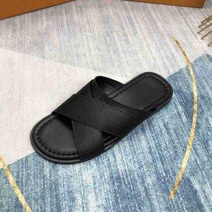 Размер 44 Качество Роскошь Дизайнерские Мужские Тапочки Сандалии Обувь Скольжение Летняя Мода Широкие Плоские Флайпы
