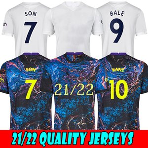 الرجال 21 22 Kane Son Bergwijn Ndorbomele Soccer Jerseys 2021 2022 توتنهام ديل جيرسي كرة القدم قميص لو سيلسو مورجان بيل لاميلا لوكاس 4th Højbjerg