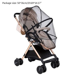 Safe Children Crib Mosquito Net Baby Pushchair Bug Netting Stroller Accessories H05C Parts &