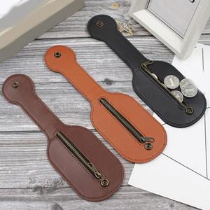 Men Leather Racket Sap Jacksap Coin Purse Wallet Small Coin Bag Key Holder Case Fashion Card Bag Money Storage