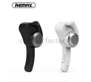 Remax T10 Earhook Wireless Stereo Mini Bluetooth Бизнес-гарнитура Наушники Наушники Handsfree с MIC для смартфона PS3 с розничной коробкой