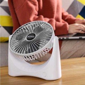 2021 NUOVO 360 ° USB Fan Refrigeratore Raffreddamento Mini Ventilatore Portatile Portable 3 Velocità Raffreddamento Super Mute Per Office Fan Fans Car Home Notebook portatile