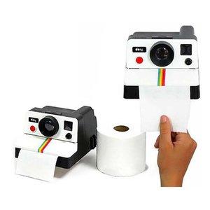 Tissue Boxes & Napkins Creative Box Holder Retro Camera Shape Toilet Paper Roll Bathroom Decoration