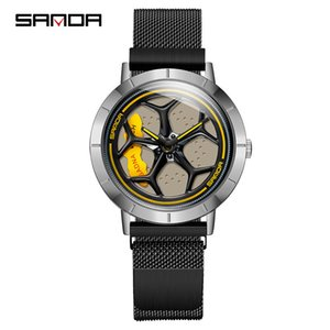 Sanda's fortunes: fashion personality men's watch creative student sports watch