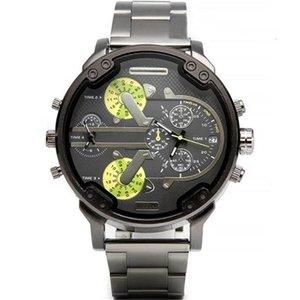 2021 military luxury mens new original big dial display watches dz wrist watch