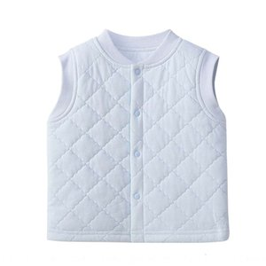 New newborn men's and women's baby cotton waistcoat infant style cotton-padded warm Vest vest warm thickened