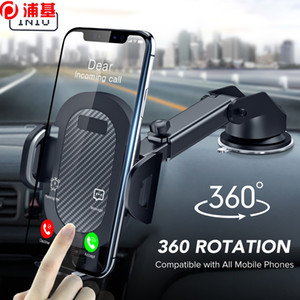 Sucker Car Phone Holder Mount Stand GPS Telefon Mobile Cell Support For iPhone 12 11 Pro Max X 7 8 Plus Xiaomi Redmi Huawei