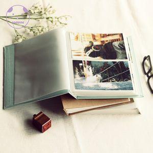 2021 New Six-inch Book Album, 6-inch Support, Wedding Cardboard Photo Album Wv5f
