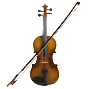 4 4 Full Size Acoustic Violin Fiddle Wood With Case Bow Rosin Violin