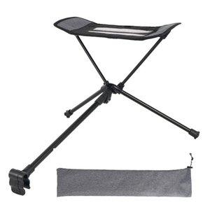 야외 접이식 발 중심 휴대용 안락 의자 발판 확장 다리 의자 접는 의자와 함께 사용할 수 있습니다