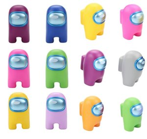 12 colours Among Us game toy Figures dolls 9.5cm Among Us Model kids gift wholesales toy