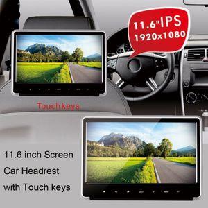 11.6 inch IPS Screen HD 1080P Car Headrest Bracket mount DVD Player with HDMI-input USB SD IR FM Games