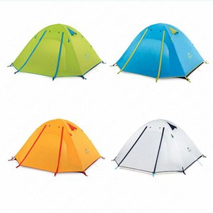 Naturehike Professional 2-4 Persons Camping Tent P2 P3 P4 Ultralight Hiking Tent Outdoor Camping Beach Anti-UV UPF50+