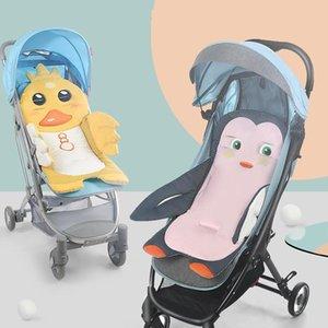 Stroller Parts & Accessories Baby Pushchair Seat Liner Universal Cotton Pad Warm Mat Sleeping Mattress Head Support Pillow Infant Pram Prote