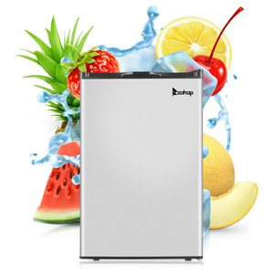 Upright Freezer Stainless Steel Space Saving Compact Small Body Portable Refrigerator