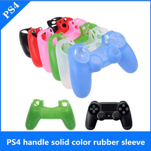 PS4 game handle protective cover silicone soft game handle box shell PS4 handle control processing game accessories
