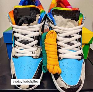 New Chunky Dunky Low Dunk Mans Correndo Shoes SB Homem Travis Scotts Paraquedas Bege Petra Designers Sports Sneakers