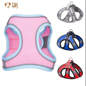 New pet chest strap vest type reflective dog traction rope pet products GC439