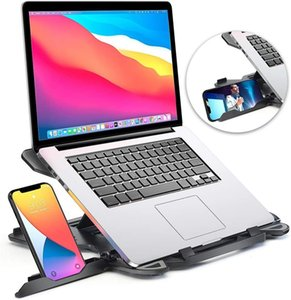 KSA adjustable Ergonomic Laptop stand laptop mount notebook Holder with phone stand magnetic laptop tablets support stand