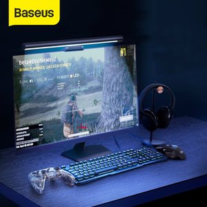 Baseus Stepless Dimming Eye-Care LED Desk Lamp For Computer PC Monitor Screen Hanging Light Pro LED Reading USB Powered Lamp