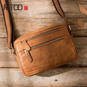 Men's Leather Genuine AETOO Bag Bags Messenger Men Small HBP Fashion Male Shoulder Crossbody Man Travel New Handbags Bnrvq