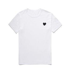 Primavera ed estate New Fashiont-Shirt Amore Cuori T-shirt T-shirt Peach Uomo Donna Donne Neck Cotton Cotton Manica corta Top Solid Color Ricamo
