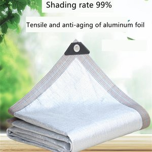 Shade 99% Sun Shading Rate Aluminum Foil Sunscreen Net Insulation Outdoor Balcony Roof Anti Aging