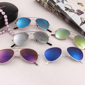 아이들을위한 파티 선글라스 어린이를위한 개구리 거울 선글라스 소년과 소녀 여름 해변 풀 파티 호의 재미 선물 안경 LJJK2516