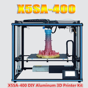 Tronxy X5SA-400 24V 3D Printer DIY Kit 400*400*400mm Large Printing Size 3.5 Inch Touch Screen Auto Leveling Filament Sensor