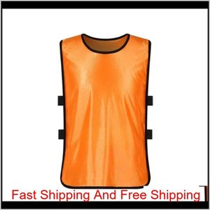 Team Training Scrimmage Vests Soccer Basketball Youth Adult Pinnies Jerseys New Sports Vest Breathable Tea qylucf hx_pack